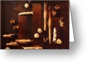 Spice Mixed Media Greeting Cards - Spicy Chocolate   Greeting Card by Sveta Shved