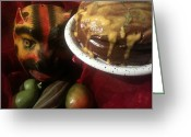 Soul Food Greeting Cards - Spicy  Mex Chocolate Greeting Card by Paul Washington