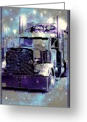 Truck Shows Greeting Cards - Spider Web Grills Greeting Card by Randy Harris