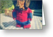 Petstagram Greeting Cards - #spiderman #dachshund #puppy #dog Greeting Card by Poppy Stamp