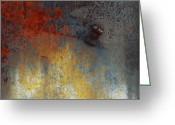Abstract Framed Prints Framed Prints Greeting Cards - Spills And Skids  Greeting Card by Jerry Cordeiro