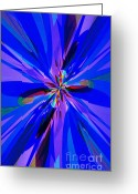 Consoling Greeting Cards - Spirit Greeting Card by Lj Lambert