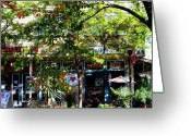 Downtown Kingston Greeting Cards - Spirit of Kingston Greeting Card by Su Ferguson - Don Burkheimer