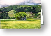 Marin Greeting Cards - Spirit Rock Greeting Card by Colleen Proppe