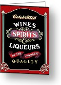 Quality Greeting Cards - Spirits Greeting Card by Kristin Elmquist