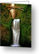 Capture Greeting Cards - Spiritual Falls Greeting Card by Scott Mahon