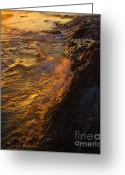 Visual Artist Greeting Cards - Splash Greeting Card by Viktor Savchenko