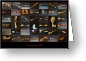 Woodworking Art Greeting Cards - Spoontaneous Greeting Card by Terry Widner