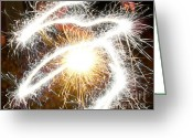 4th July Digital Art Greeting Cards - Sporadically Sound Greeting Card by Lj Lambert