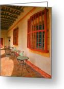 Religious Building Greeting Cards - Spot for Refreshments Greeting Card by Steven Ainsworth