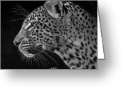 Photo-realism Greeting Cards - Spotted Solitude Greeting Card by Sheryl Unwin