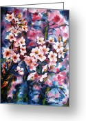 Most Greeting Cards - Spring Beauty Greeting Card by Zaira Dzhaubaeva