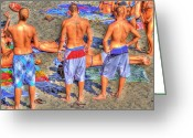 Sports Greeting Cards Greeting Cards - Spring Break Greeting Card by Debra and Dave Vanderlaan