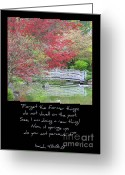 Isaiah Greeting Cards - Spring Revival Greeting Card by Carol Groenen