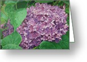- Harlan Greeting Cards - Spring Scent Greeting Card by Harlan