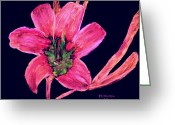 Flower. Petals Pastels Greeting Cards - Spring Time Greeting Card by Melvin Moon