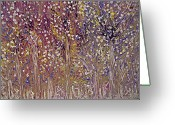 Side At Home Greeting Cards - Springtime Painting Greeting Card by Don  Wright
