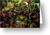 Julianne Felton Greeting Cards - Spruce Creek   Greeting Card by Julianne Felton