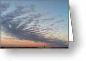 Prestigeclass Greeting Cards - #squaready #sunset #sunsetlovers Greeting Card by Lisa Worrell