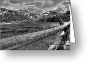 High Dynamic Range Greeting Cards - Squaw Valley USA Olympic Valley California Greeting Card by Scott McGuire