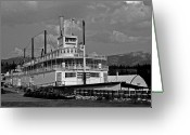 Klondike Greeting Cards - S.S. Klondike Greeting Card by Juergen Weiss