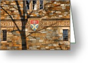 Cities Greeting Cards - St. Albans School I Greeting Card by Steven Ainsworth