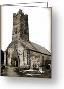 Co Galway Greeting Cards - St Brendans Cathedral Greeting Card by Terence Davis