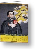 Jesuit Greeting Cards - St. Francis Xavier Greeting Card by Granger