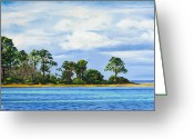 Rick Mckinney Greeting Cards - St. Joe Greeting Card by Rick McKinney