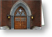 Syracuse Greeting Cards - St. John the Evangelist Roman Catholic Church Greeting Card by Steven  Michael