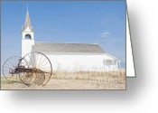 Daysray Photography Greeting Cards - St. Josephs Catholic Mission Church 2 Greeting Card by Fran Riley