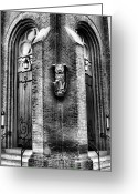 Cities Greeting Cards - St. Marks Episcopal Church Greeting Card by Steven Ainsworth