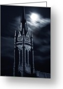 Church Photo Greeting Cards - St Nicholas Church Wilkes Barre Pennsylvania Greeting Card by Arthur Miller