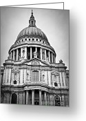 Paul Photo Greeting Cards - St. Pauls Cathedral in London Greeting Card by Elena Elisseeva