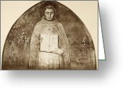Angelico Greeting Cards - St. Thomas Aquinas Greeting Card by Granger