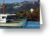 West Indies Greeting Cards - St Vincent Greeting Card by Matt Suess