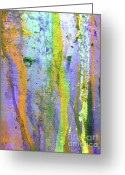 Dye Greeting Cards - Stains of Paint Greeting Card by Carlos Caetano