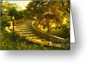 Madeline Ellis Greeting Cards - Stairway To Nirvana Greeting Card by Madeline Ellis
