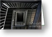Ronnie Glover Greeting Cards - Stairway to.... Greeting Card by Ronnie Glover