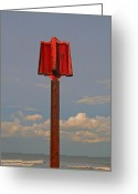 Mundesley Greeting Cards - Standing proud Greeting Card by Camera Rustica Bill Kerr