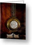 Clock Hands Greeting Cards - Standstill Greeting Card by Odd Jeppesen