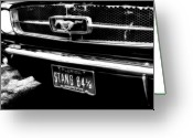 Classic Auto Greeting Cards - Stang Greeting Card by Kenneth Krolikowski