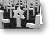 Star Of David Greeting Cards - Star of David Greeting Card by Brian Mollenkopf