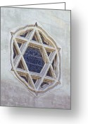 Star Of David Greeting Cards - Star Of David Greeting Card by Viktor Savchenko