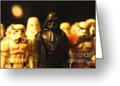 George Lucas Greeting Cards - Star Wars Gang 3 Greeting Card by Micah May