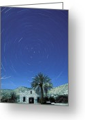 Polaris Greeting Cards - Startrails Around The Polaris North Greeting Card by Rich Reid