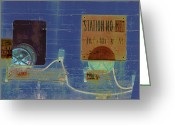 Soundscape Greeting Cards - Station No. 12A X-ray Greeting Card by Robert Glover