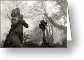 Female Likeness Greeting Cards - Statue Greeting Card by Robert Dalton