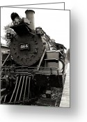 Crossroads Greeting Cards - Steam Engine 464 Greeting Card by Scott Hovind