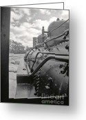 Train Greeting Cards - Steam Remembers Greeting Card by Juan Alonso